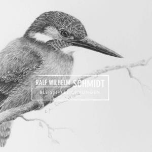 Eisvogel 2,Zeichnung von Ralf Wilhelm Schmidt