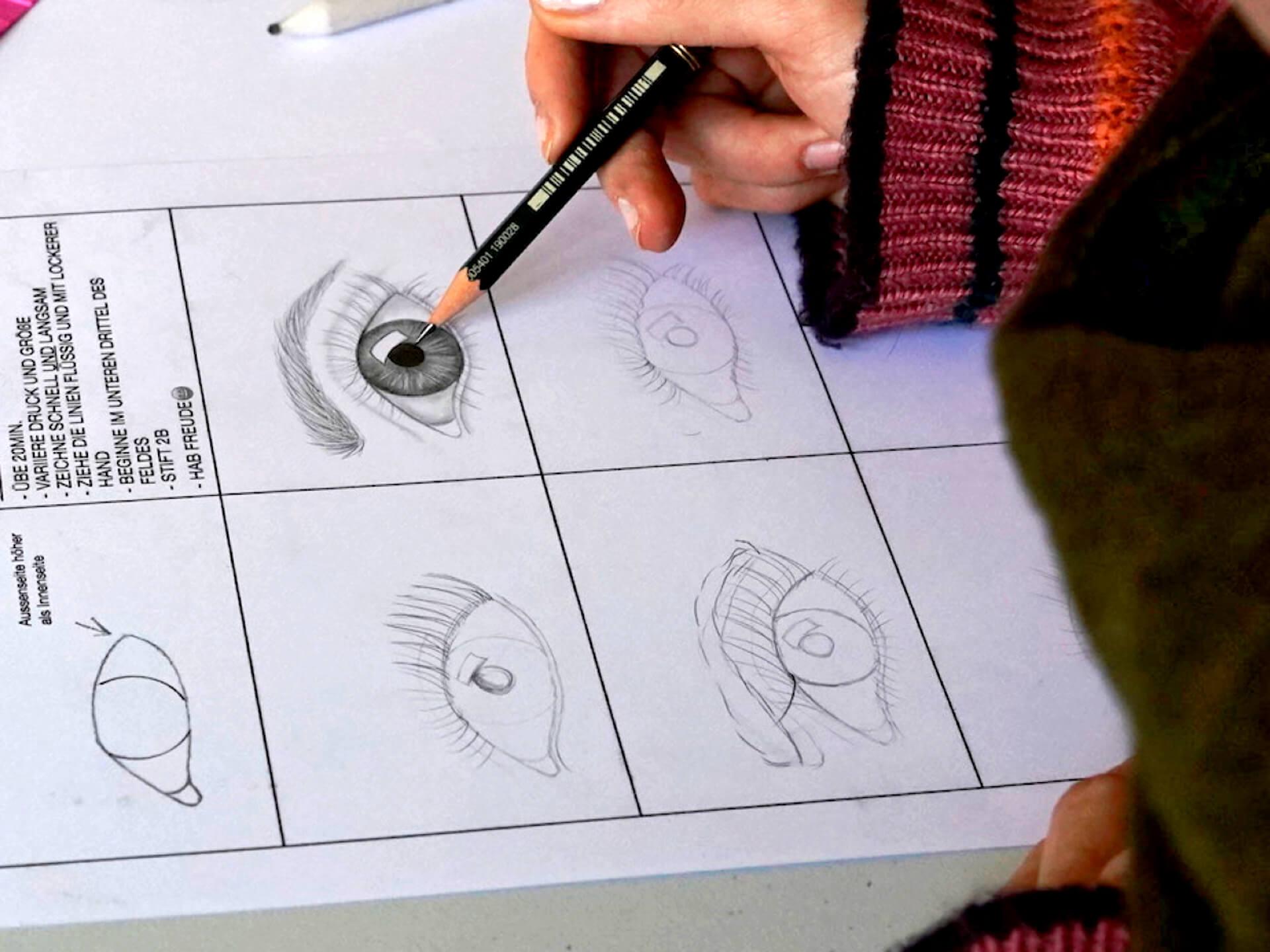Augen Zeichnen Ergebnisse