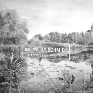 Park Babelsberg, Flatowturm,Park Babelsberg Flatowturm, Zeichnung von Ralf Wilhelm Schmidt