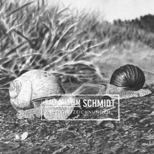 Schnecken, Bleisiftzeichnung von Ralf Wilhelm Schmidt