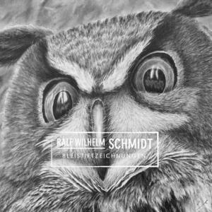 Zeichnung Eule Oh, von Ralf Wilhelm Schmidt