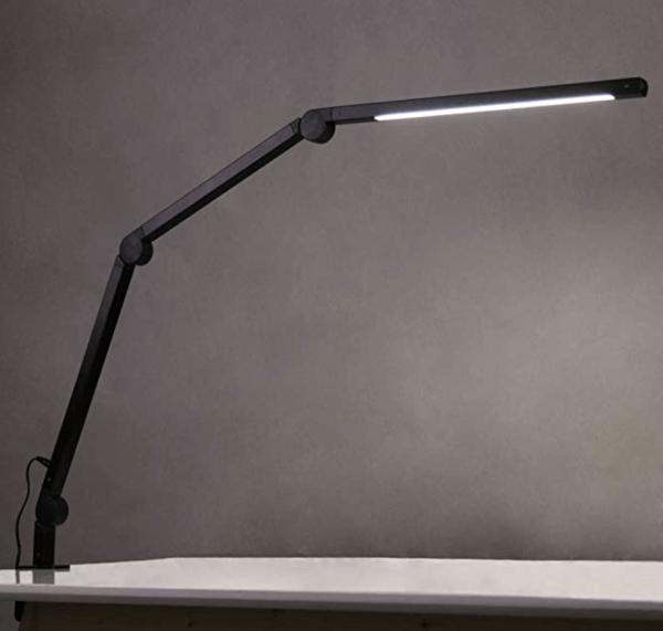 LED Schreibtischlampe,Schwenkarm Architektenlampe Arbeitsleuchte