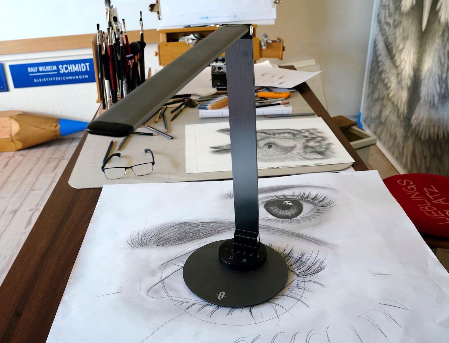 Zeichenlampe