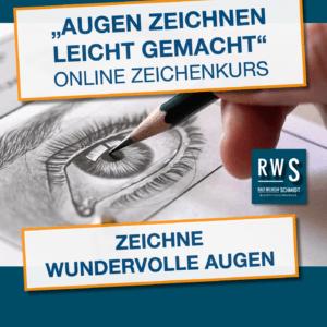 Zeichenkurs-Augen zeichnen