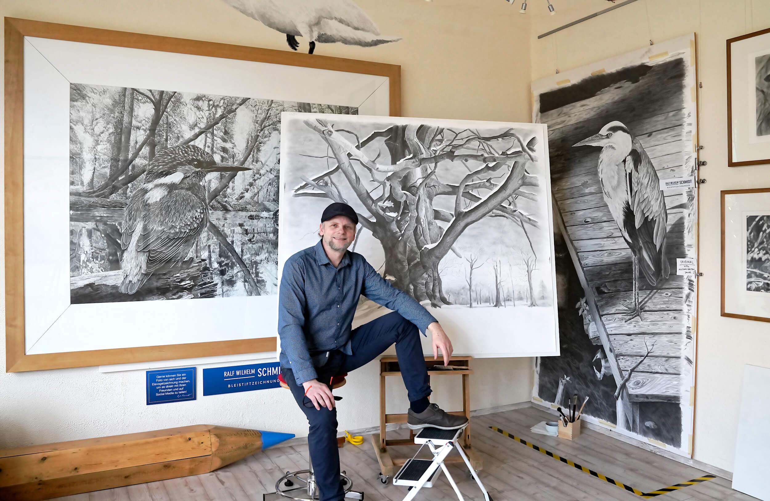 Augen zeichnen lernen-der Zeichenkurs-Ralf Wilhelm Schmidt