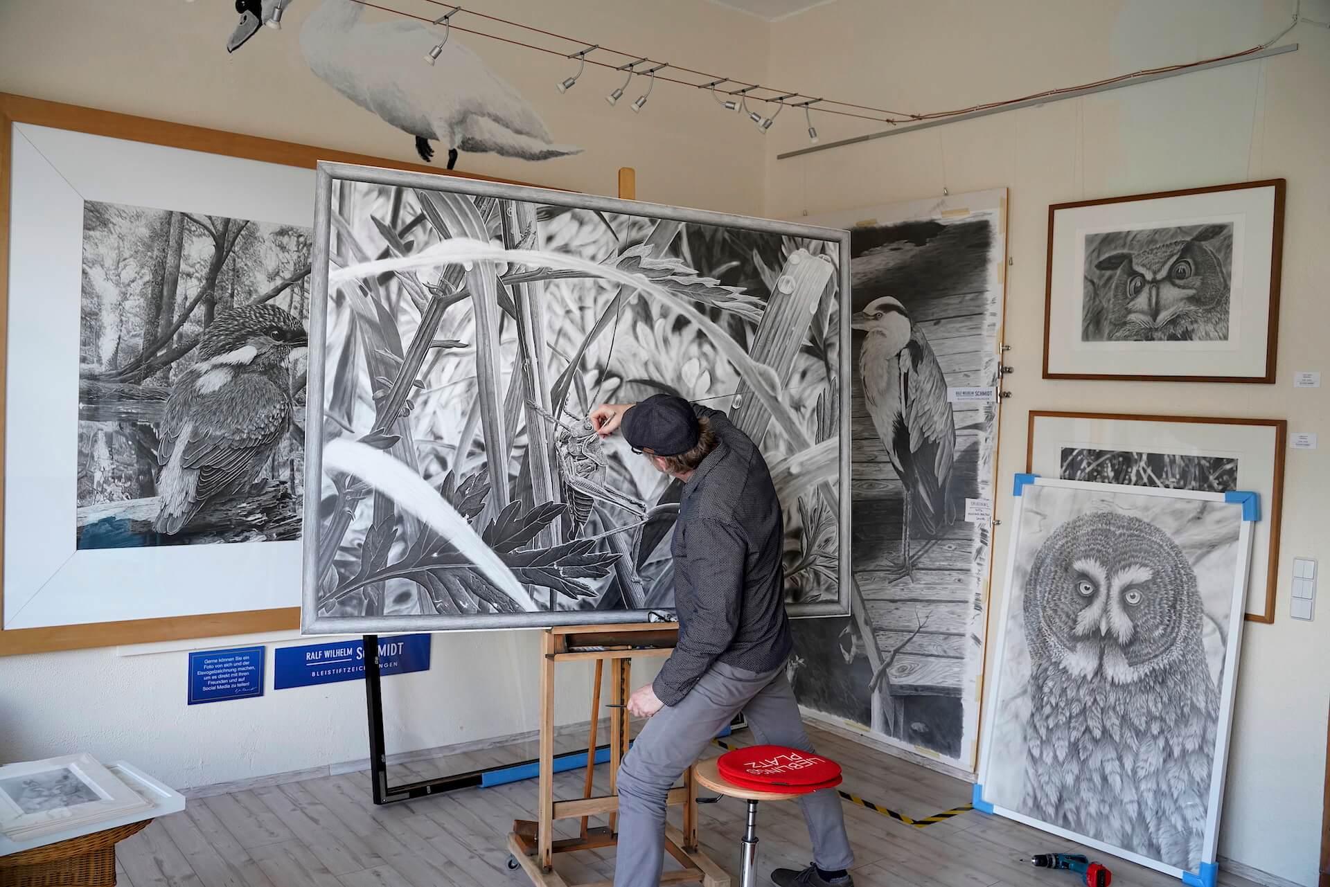 Zeichenkurs Augen zeichnen lernen - mit Ralf Wilhelm Schmidt