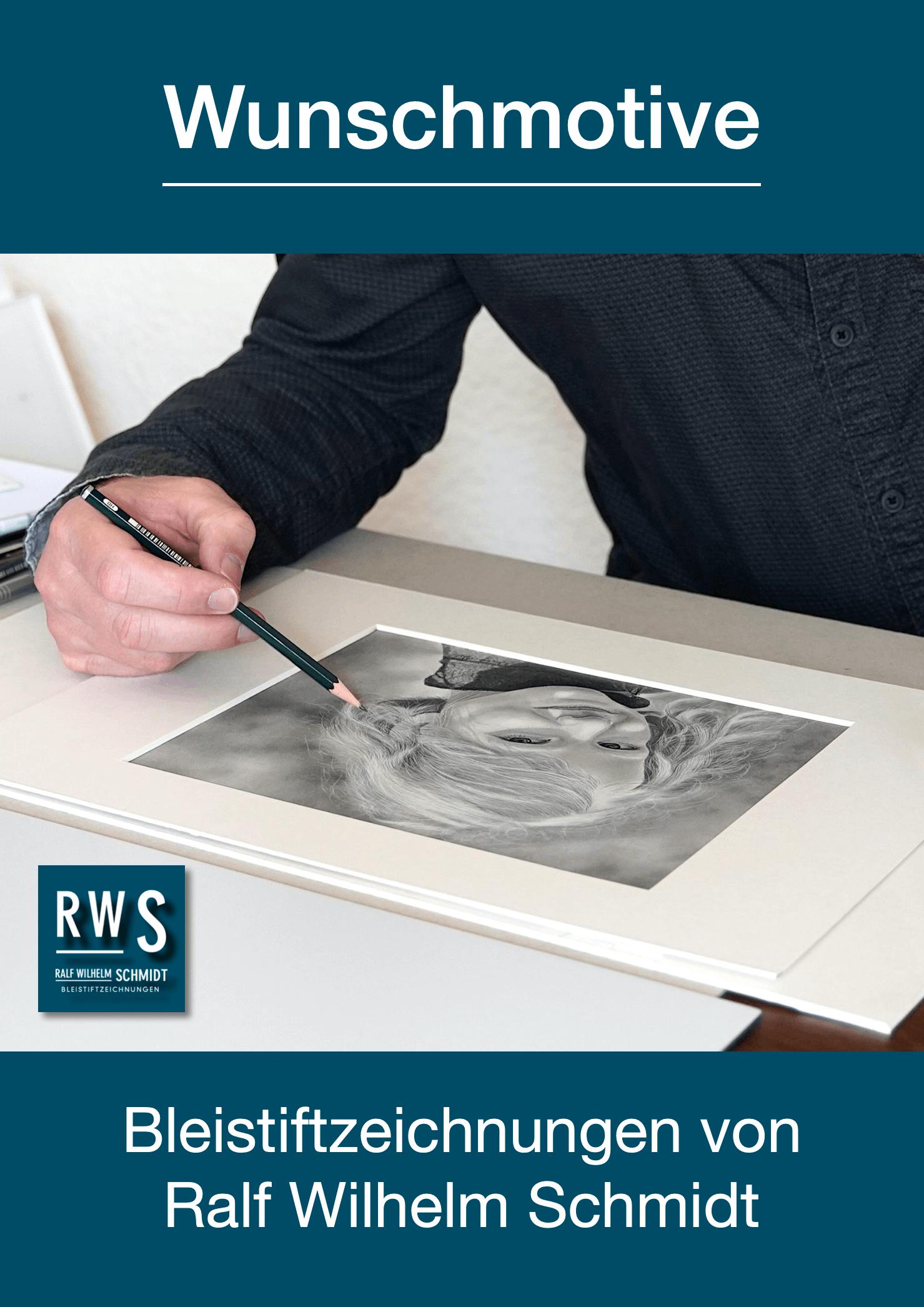 Bleistiftzeichnungen von Ralf Wilhelm Schmidt