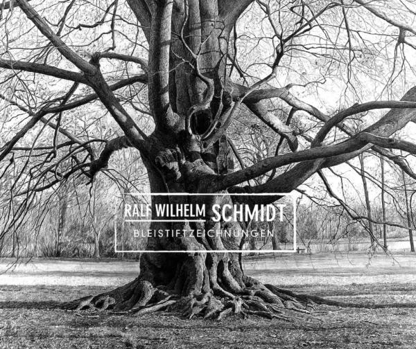 Baum Zeichnung Blutbuche,Zeichnung von Ralf Wilhelm Schmidt