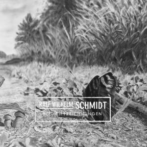"""Schmetterling, Zeichnung """"Einblick"""" von Ralf Wilhelm Schmidt"""
