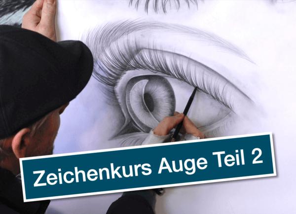 Zeichenkurs Auge Teil 2 von Ralf Wilhelm Schmidt